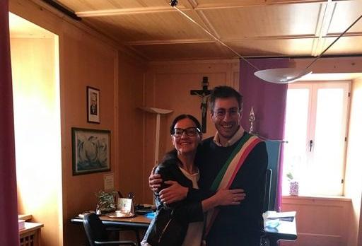 Anna Panizza- Michele Bertolini, neo sindaco