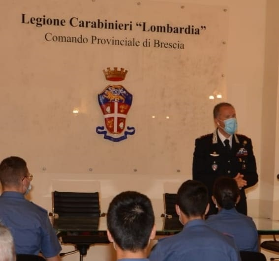 Carabinieri - arrivi - Brescia 1
