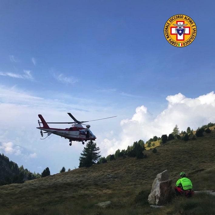 Elicottero Vigili del fuoco - Soccorso Alpino