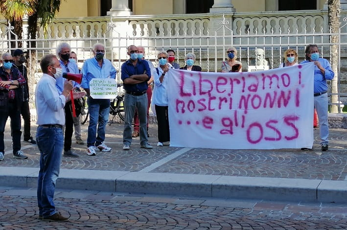 Flash Mob - Degasperi - Onda civica Trento