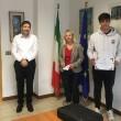 Nella foto da sinistra Matteo Amonini, Fabio Molinari, Giovanna Bruno e Andrea Paindelli