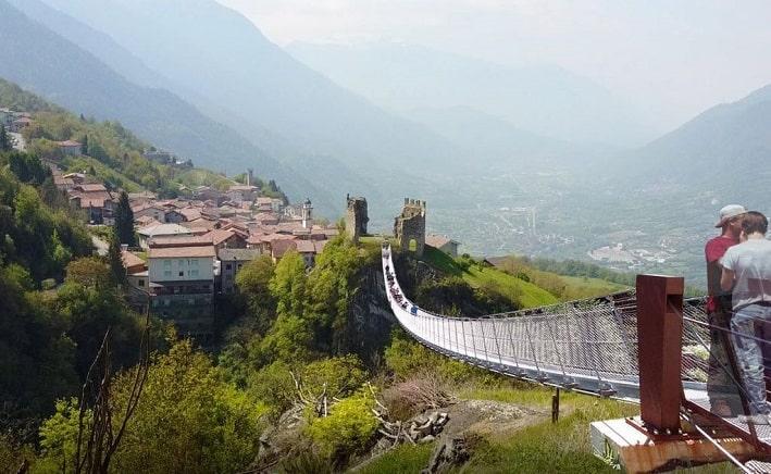 Ponte dei segni - Paspardo-Cimbergo