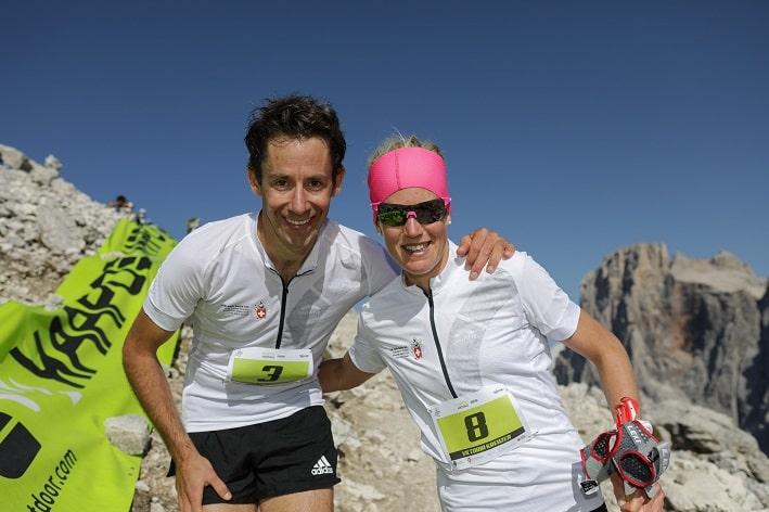 Victoria Kreuzer e Martin Anthamatten - credit foto Raffaele Merler ed Enrica Pallaver