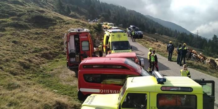 Vigilio del fuoco -Soccorso Alpino bresciano ricerche
