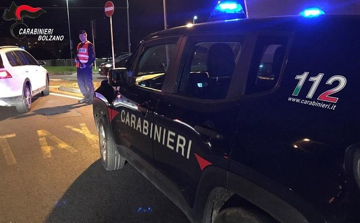 carabinieri controlli - Bolzano
