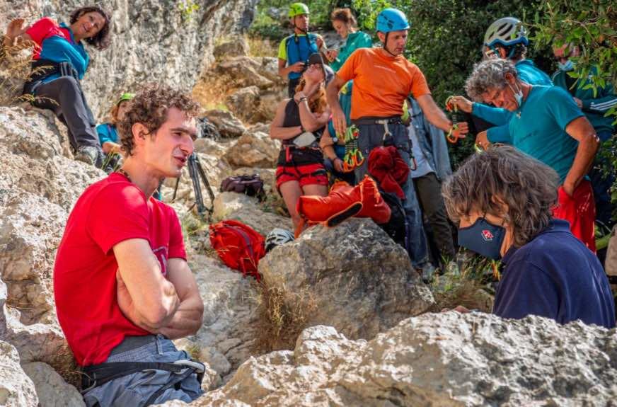 climber calza
