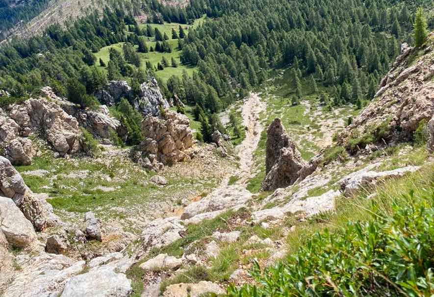 latemar escursione montagna soccorso