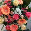 mazzo fiori omaggio auguri