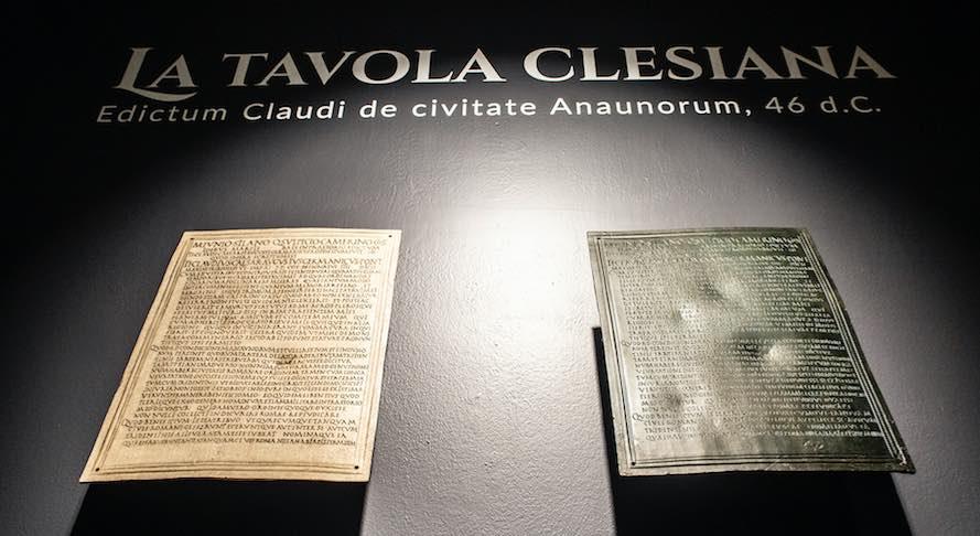 tavola clesiana francesca