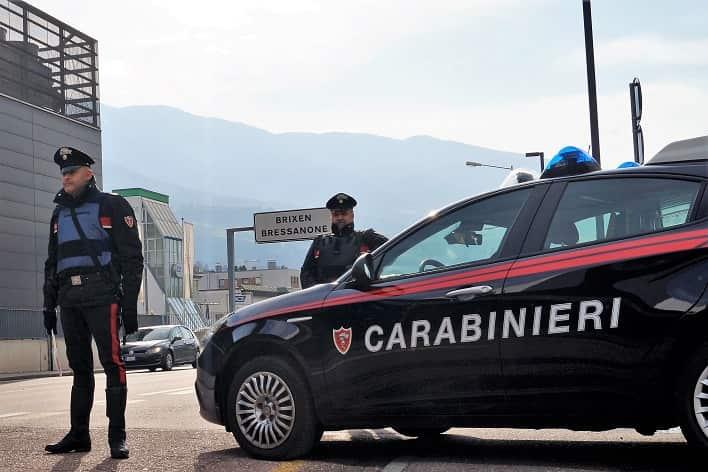 Bressanone - carabinieri