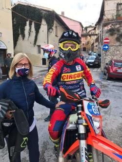 Matteo Grigis e mamma Enrica