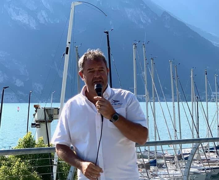 Mauro Versini - presidente Circolo Vela Torbole - foto credit Elena Giolai