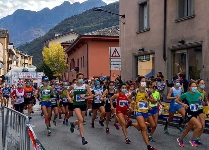 Partenza Morbegno - gara - foto credit trofeo Vanoni