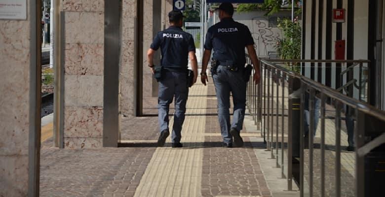 Polizia ferroviaria controlli