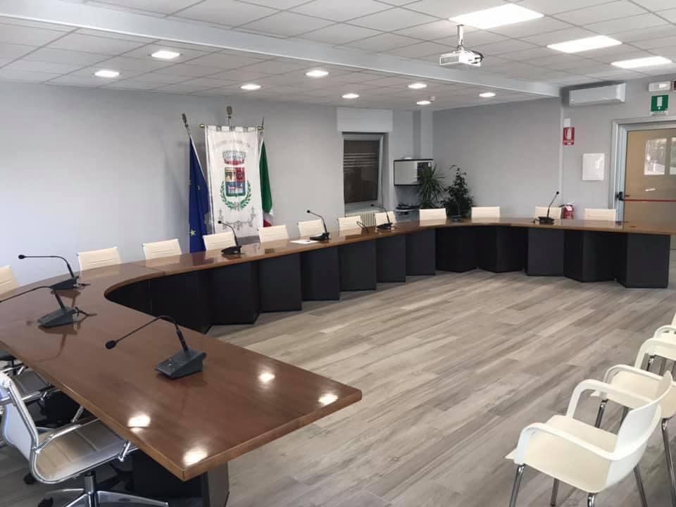 Sala consiliare Piancogno