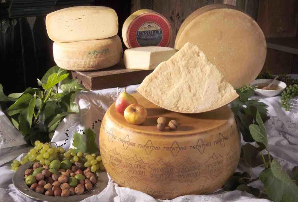 sapori formaggi trentino