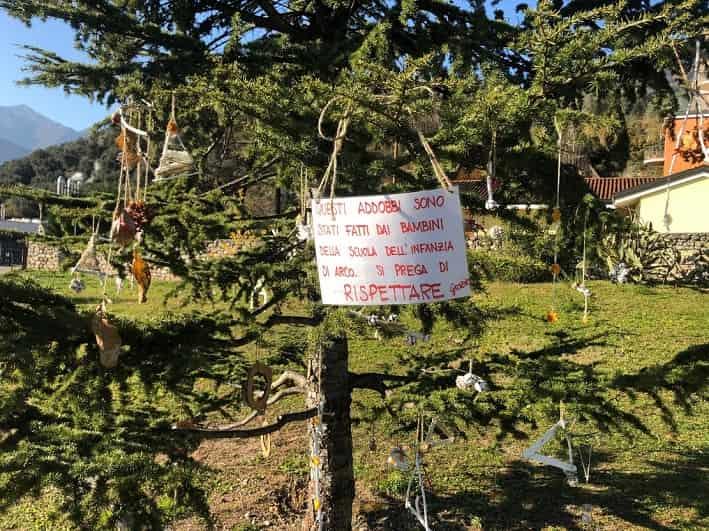 Albero Natale - Parco Mandela