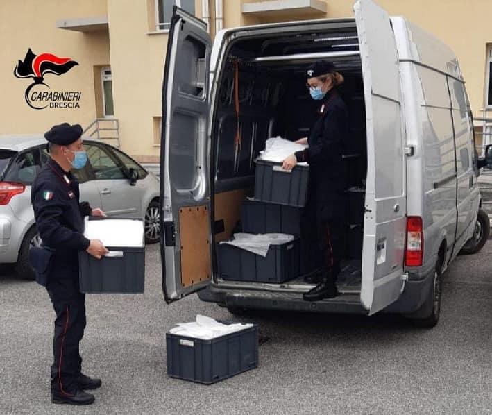 Brescia carabinieri - Covid