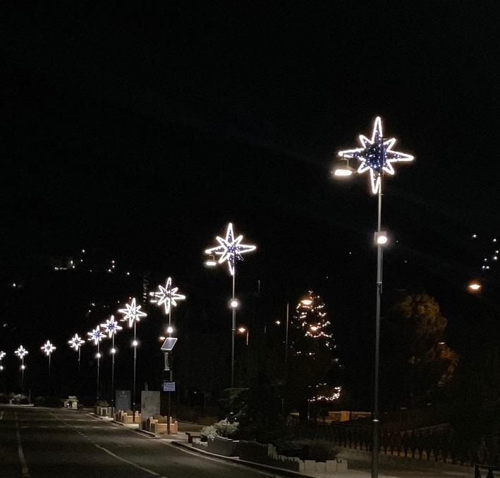 Ponte di Legno - Natale illuminazione