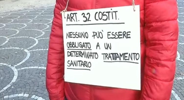 Trento - protesta
