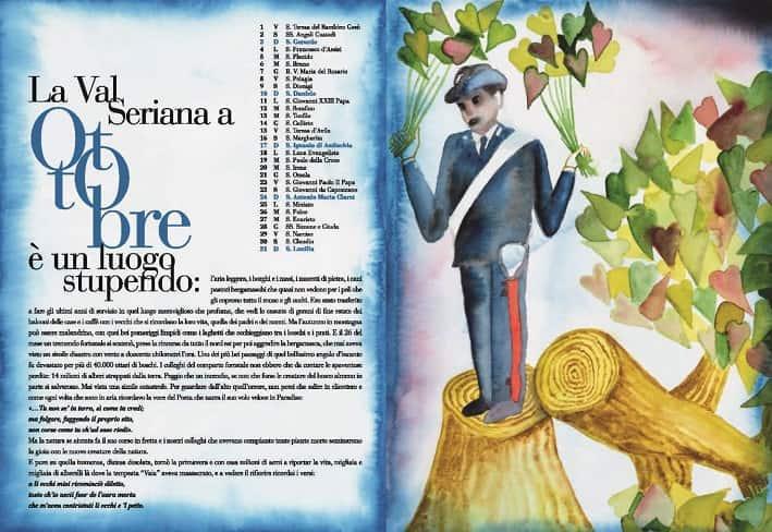 calendario- storico carabinieri - Val Seriana