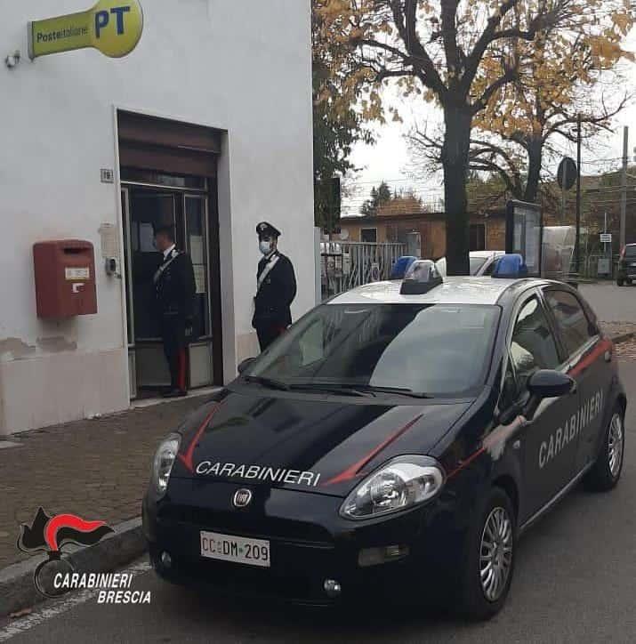 poste - carabinieri - brescia