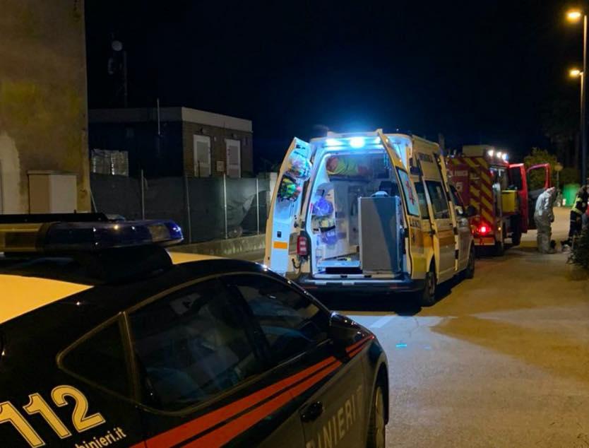 vigili fuoco carabinieri ambulanza