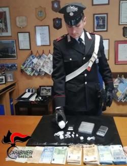 Carabinieri - spaccio - Angolo Terme