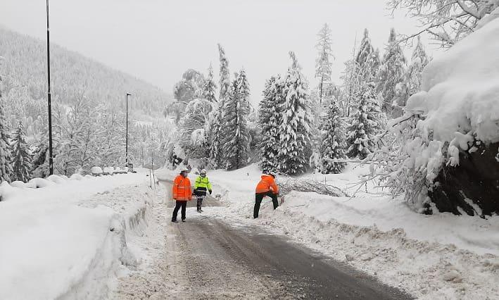 Corteno neve - Protezione Civile