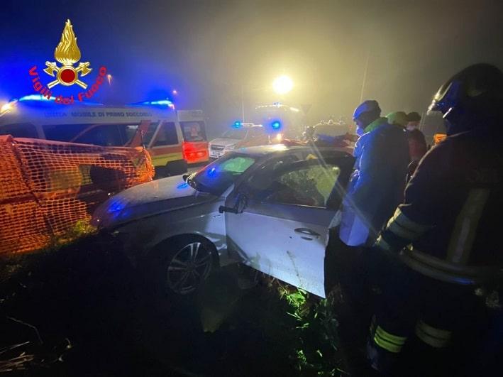 Incidente - vigili fuoco Brescia