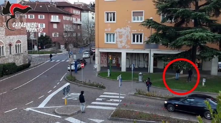 Spaccio - Trento - carabinieri